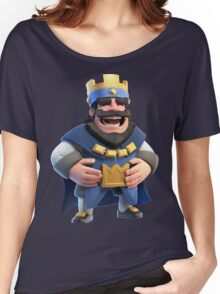 Blue King Clash Royale Art Women's Relaxed Fit T-Shirt
