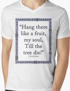 Hang There Like A Fruit - Cymbeline Mens V-Neck T-Shirt