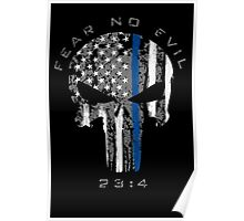 Punisher - Blue Line (Fear No Evil) Poster