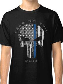 Punisher - Blue Line (Fear No Evil) Classic T-Shirt