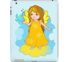 Cute Angel cartoon vector iPad Case/Skin
