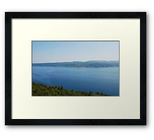 Istrian Coast Near Plomin Framed Print