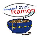 Everybody Loves Ramen Parody by doonidesigns