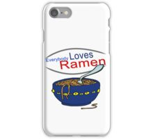 Everybody Loves Ramen Parody iPhone Case/Skin