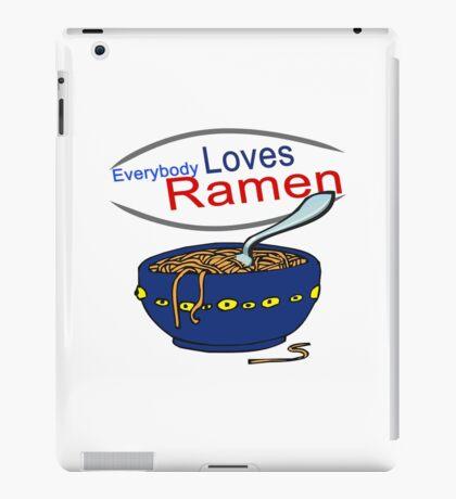 Everybody Loves Ramen Parody iPad Case/Skin