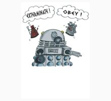 The Inner Workings of the Dalek Mind Kids Tee