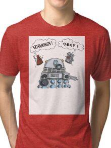 The Inner Workings of the Dalek Mind Tri-blend T-Shirt