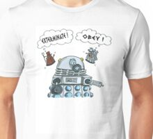 The Inner Workings of the Dalek Mind Unisex T-Shirt