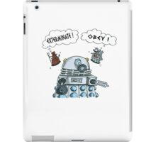 The Inner Workings of the Dalek Mind iPad Case/Skin