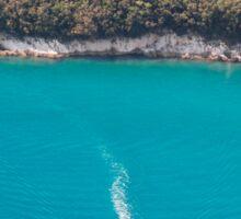 Istrian Coast Near Plomin Sticker