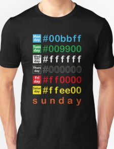 Colors week Unisex T-Shirt