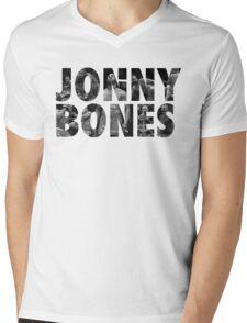 Jonny Bones Jones Mens V-Neck T-Shirt