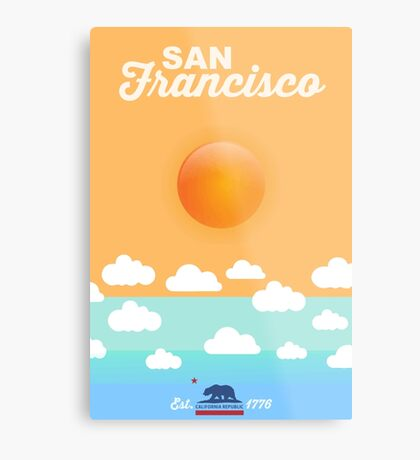 San Francisco. Metal Print
