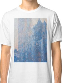 1894-Claude Monet-Rouen Cathedral Façade and Tour d'Albane (Morning Effect)-74 x 106 Classic T-Shirt