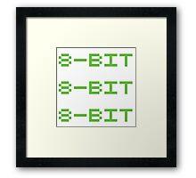 8 bit Framed Print