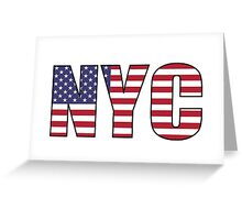 New York City NYC Greeting Card