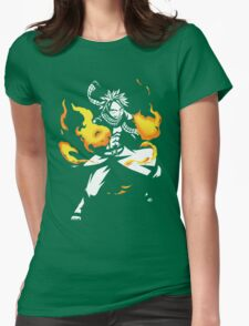 Fire Dragon Slayer Womens Fitted T-Shirt