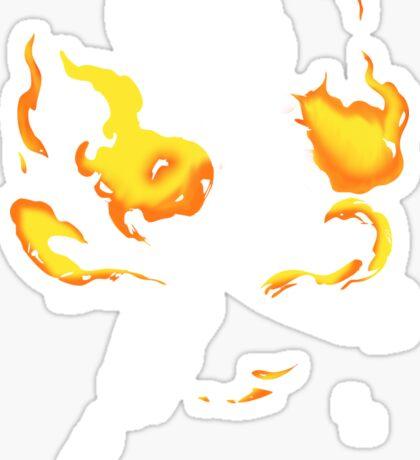Fire Dragon Slayer Sticker