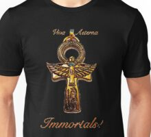Immortals with gold writing Unisex T-Shirt