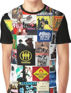 spain and southamerica rock and pop bands Graphic T-Shirt