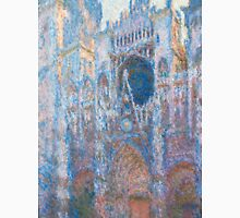 1894-Claude Monet-Rouen Cathedral, West Façade-65 x 100 Unisex T-Shirt