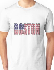 Boston. Unisex T-Shirt