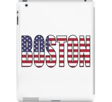 Boston. iPad Case/Skin