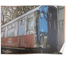Decaying train  Poster