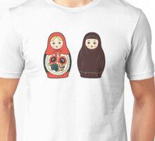 Two together (matryoshka, Russian nesting dolls) Unisex T-Shirt