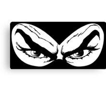 Diabolik eyes, comic hero Canvas Print