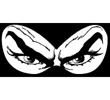 Diabolik eyes, comic hero Photographic Print
