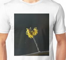 Yellow Witch Hazel Flowers Unisex T-Shirt