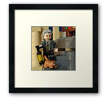 Filch on the Prowl  Framed Print