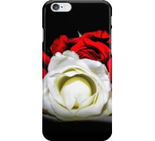 Red and White Roses iPhone Case/Skin