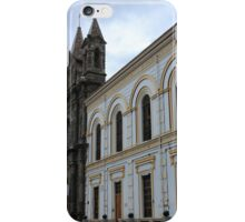 Church Facade in Ibarra iPhone Case/Skin