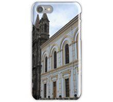 Church Facade in Ibarra iPhone Case/Skin