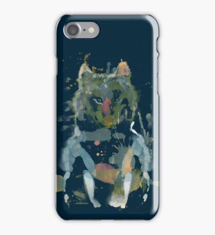 watercolor little foxy iPhone Case/Skin