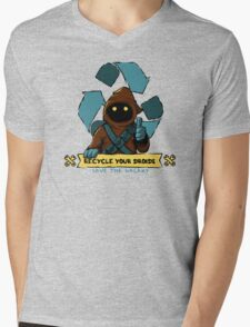 Recycle your droids Mens V-Neck T-Shirt