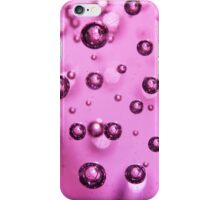 Violet Bubbles - Macro Photography iPhone Case/Skin