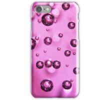 Violet Bubbles - Macro Photography iPhone Case/Skin