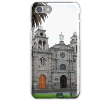 Statue of the Virgin Mary on a Church iPhone Case/Skin
