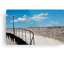 Motovun City Walls Metal Print
