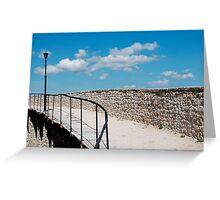 Motovun City Walls Greeting Card