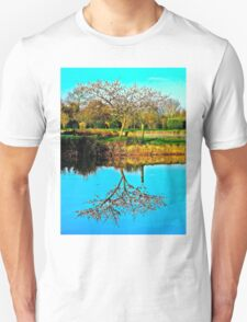 Springtime reflection Unisex T-Shirt