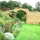 Herb garden  at Broughton Castle by ©The Creative  Minds