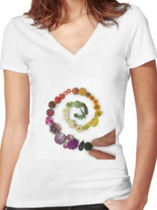The Long Game Women's Fitted V-Neck T-Shirt