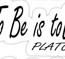 Do be Do be Do, Greek version, MUSIC, Frank Sinatra Lyrics Sticker
