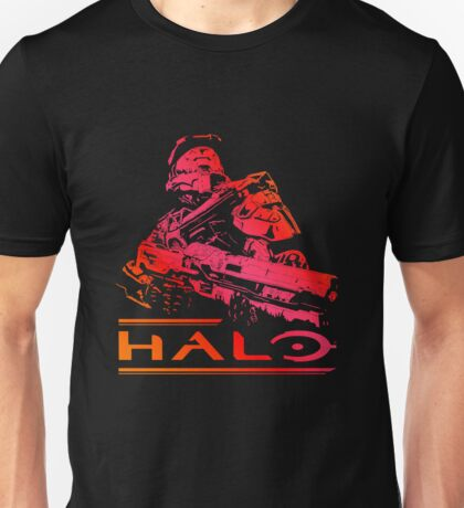 Halo - Red Unisex T-Shirt