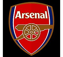 arsenal logo Photographic Print