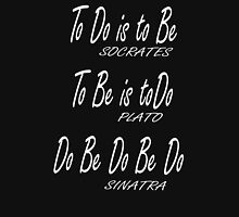 Do be Do be Do, Greek version, MUSIC, Frank Sinatra Lyrics, on BLACK Unisex T-Shirt